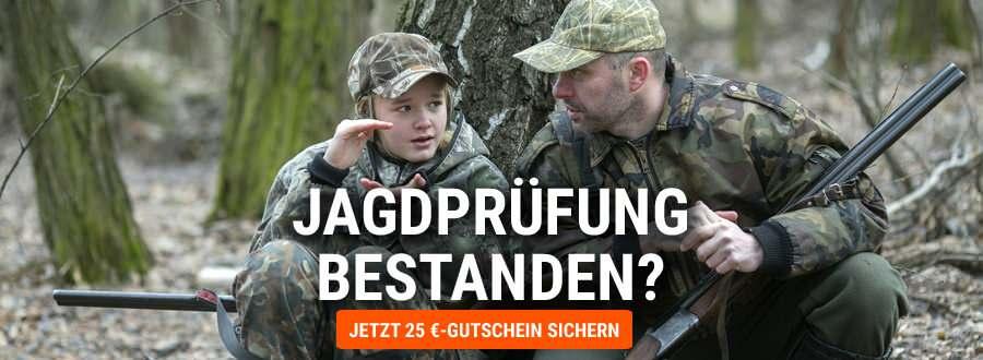Wir gratulieren zur bestandenen Jagd-Prüfung!